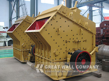 impact crusher for coal gangue